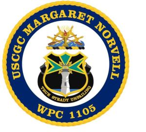Seal of the Coast Guard Cutter Margaret Norvell