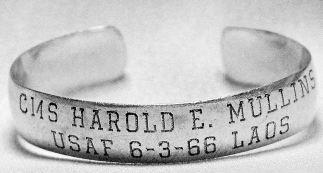 Typical POW bracelet from WIkipedia.